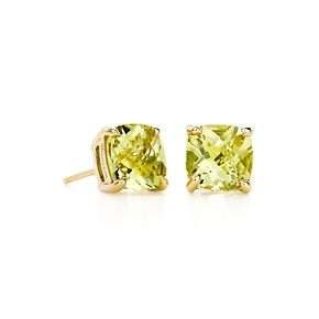 Tiffany Sparklers Yellow Citrine Earrings In 18k Gold
