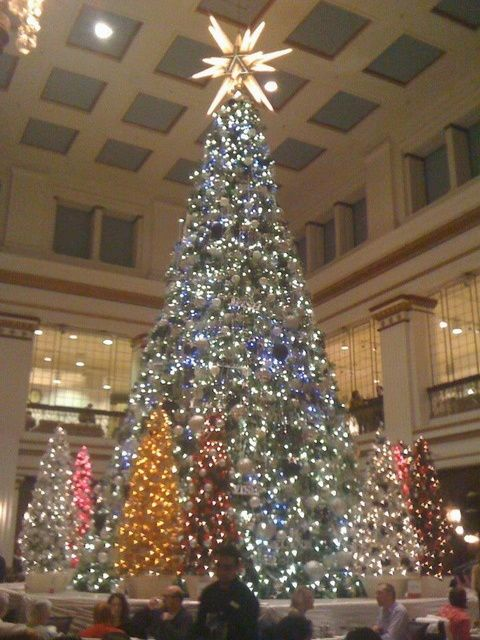 Walnut Room, Chicago. Many Christmas lunches there as a child ...