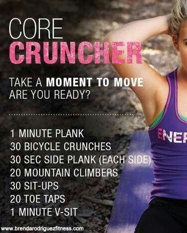 Core Crunches Challenge!!! #Pushplay #workout #exercise