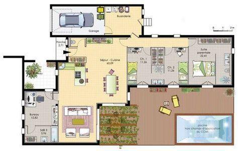Maison de plain-pied 6 House