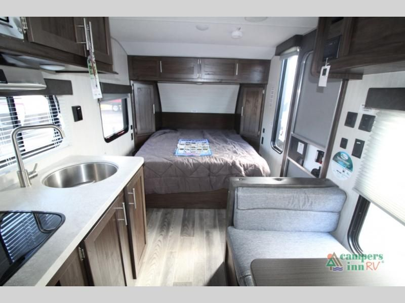 New 2019 Forest River Rv Cherokee Wolf Pup 16fq D Travel Trailer
