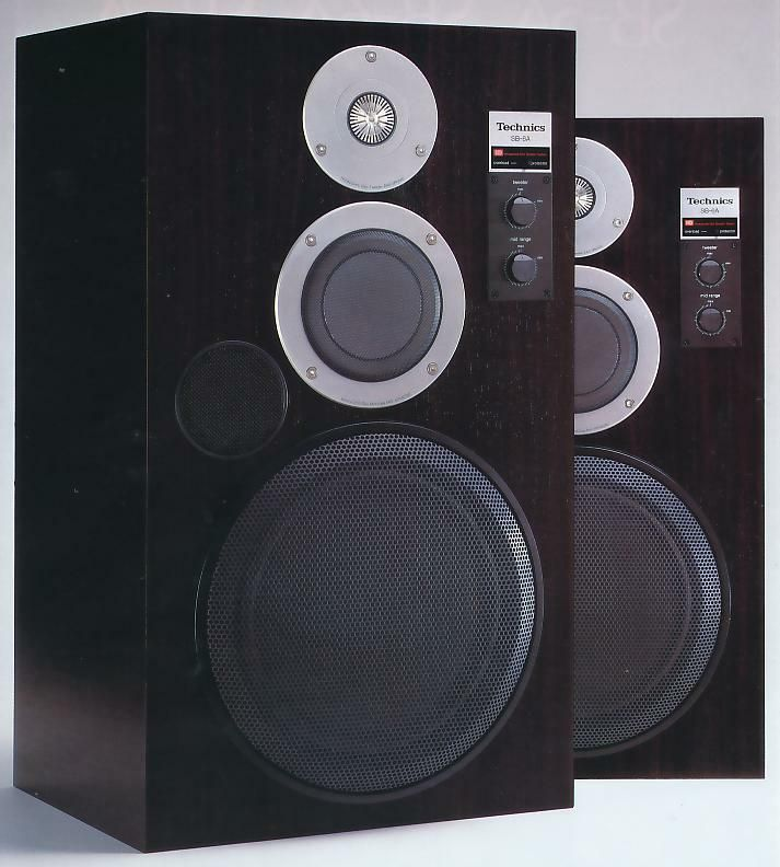 Vintage audio Technics SB-6 HONEYCOM DISC