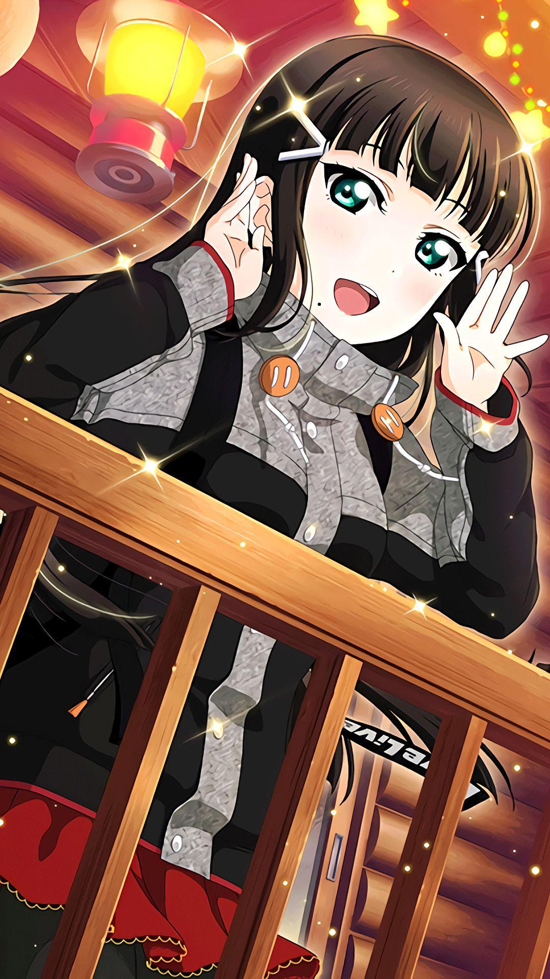 黒澤ダイヤiphone壁紙 Androidスマホ用画像 黒澤ダイヤ 黒澤 ラブライブサンシャイン