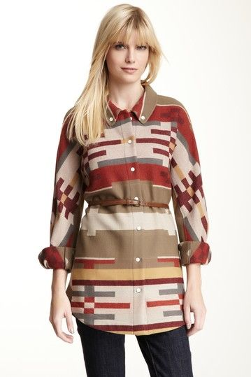 The love for this Monica Tunic from The Portland Collection by Pendleton  is strong with this one.