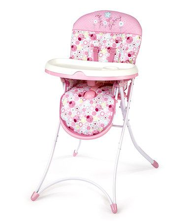 Take A Look At This Pretty In Pink Sweet Spots Ladybugs High Chair By Bright Starts On Zulily Today Pink High Chair Highchair Cover Girl High Chair