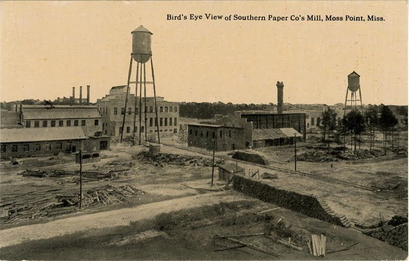 Southern Paper Mill, Moss Point, Miss.   Moss point, Mississippi travel, Ancient forest