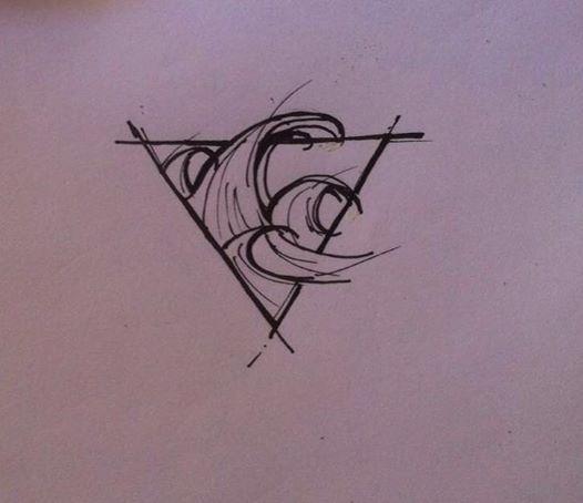 Pin By Lola Chauvin On Tatouage Tatouage Tatouage Vague Tatouage