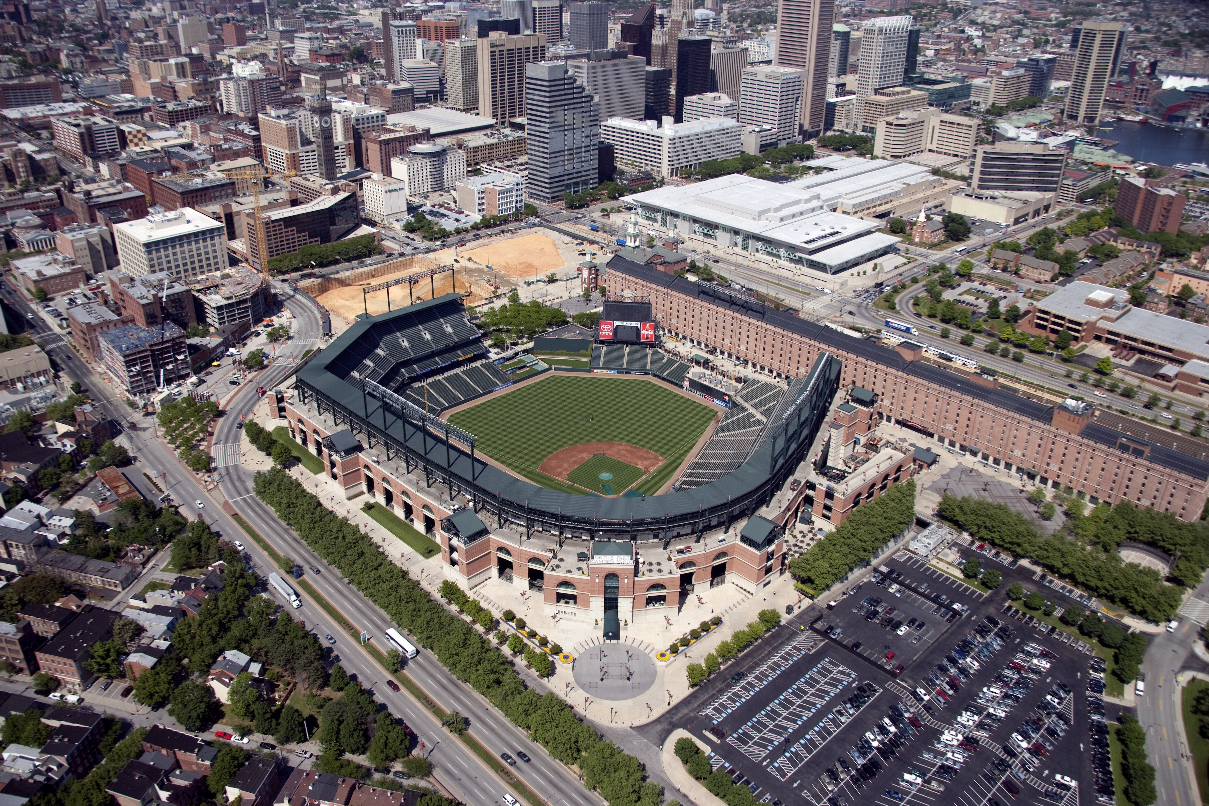 Oriole Park At Camden Yards Baltimore Maryland Camden Yards Baseball Park Baseball Stadium