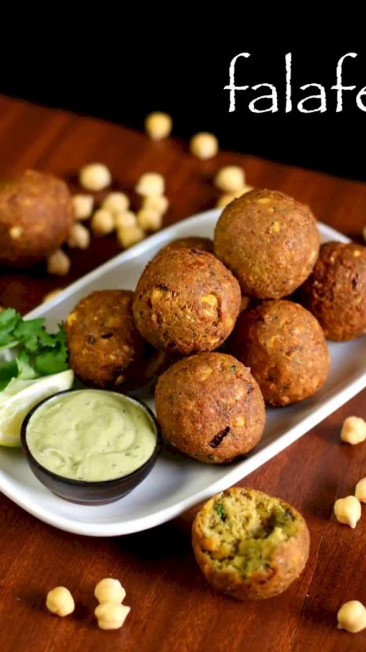 falafel recipe | easy falafel balls | how to make chickpea falafel
