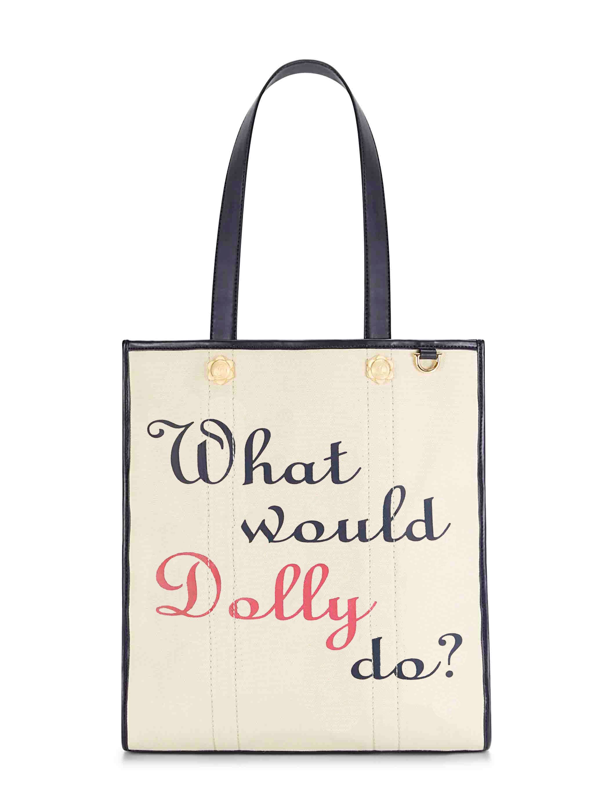 490f2d13054 What Would Dolly Do Canvas Tote | Products | Draper james, Bags ...