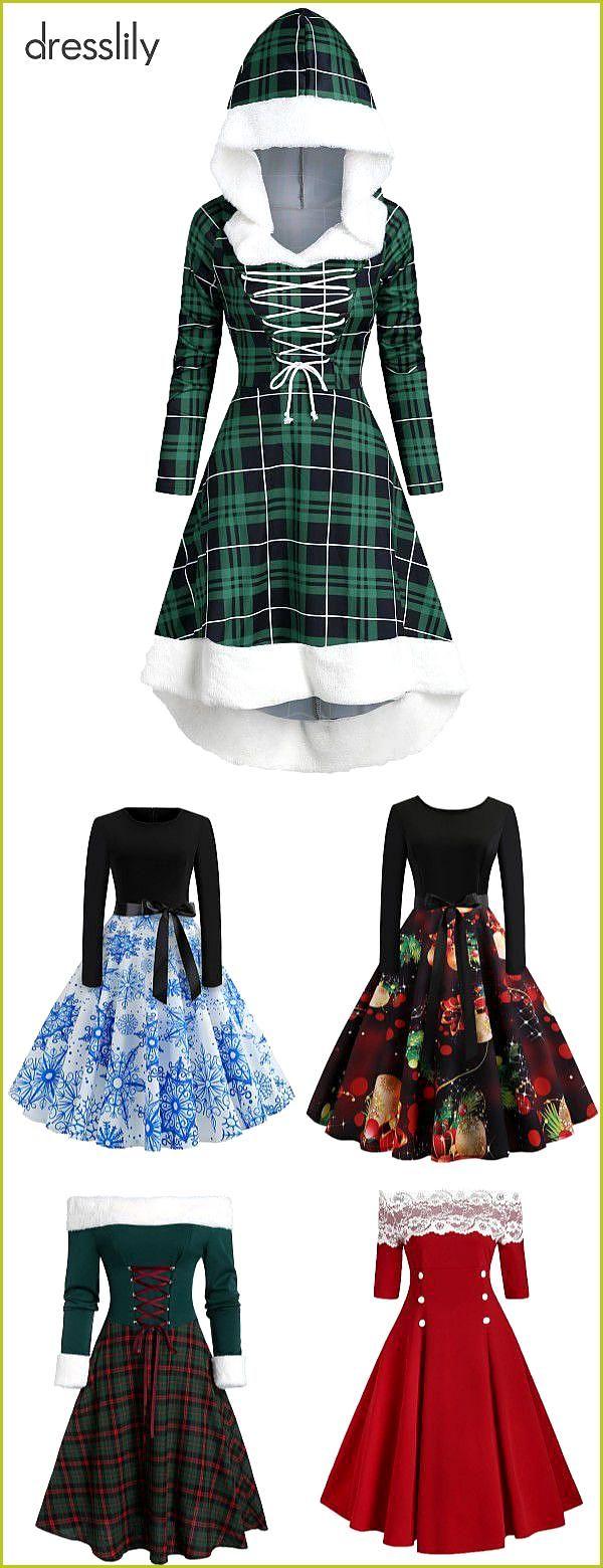 Frauen Weihnachtsfeier Kleider   Kleid weihnachten ...