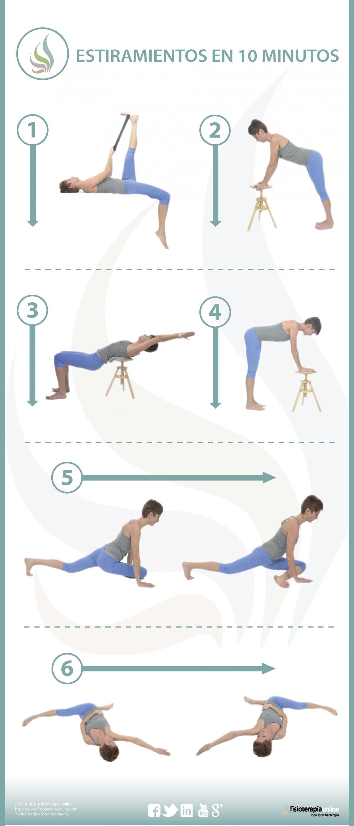 6 Estiramientos Para Cuidar Tu Espalda Y Piernas En 10 Minutos Estiramiento De Piernas Estiramientos Dolor De Piernas