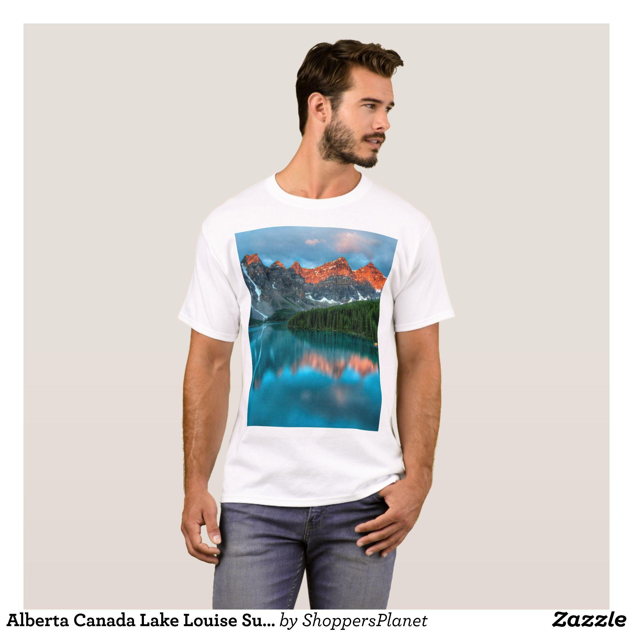 Alberta Canada Lake Louise Summer Adventure TShirt