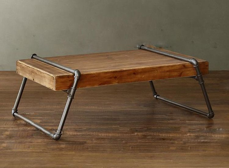 pipe coffee table | nick boynton furniture