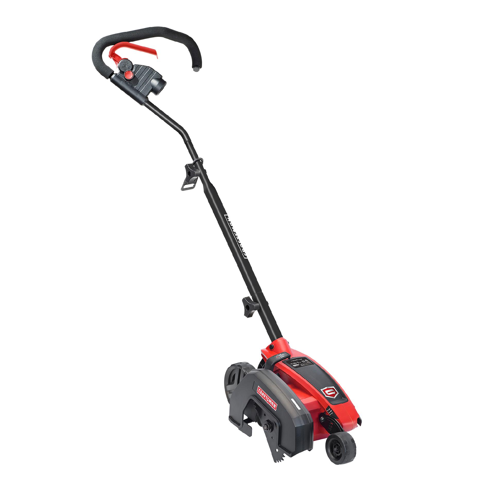 Craftsman Gle150u1 2 In 1 110v Electric Corded Lawn Edger Red Black Lawn Edger Best Riding Lawn Mower Lawn Mower