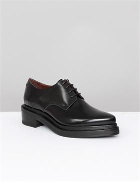 Acne Studios Lark Oxford Black | Dress shoes men, Shoes