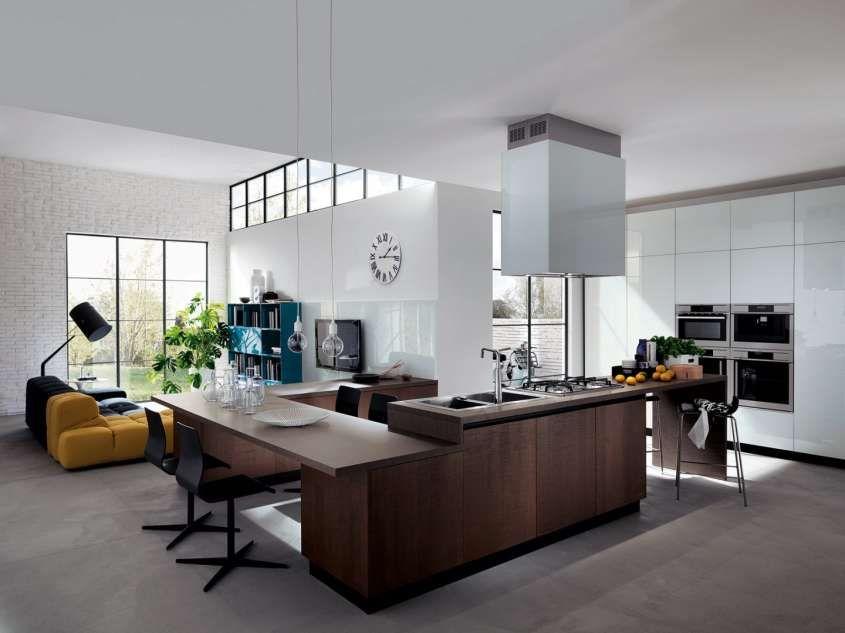 e soggiorno open space - soluzioni innovative per la casa - Soluzioni Cucina