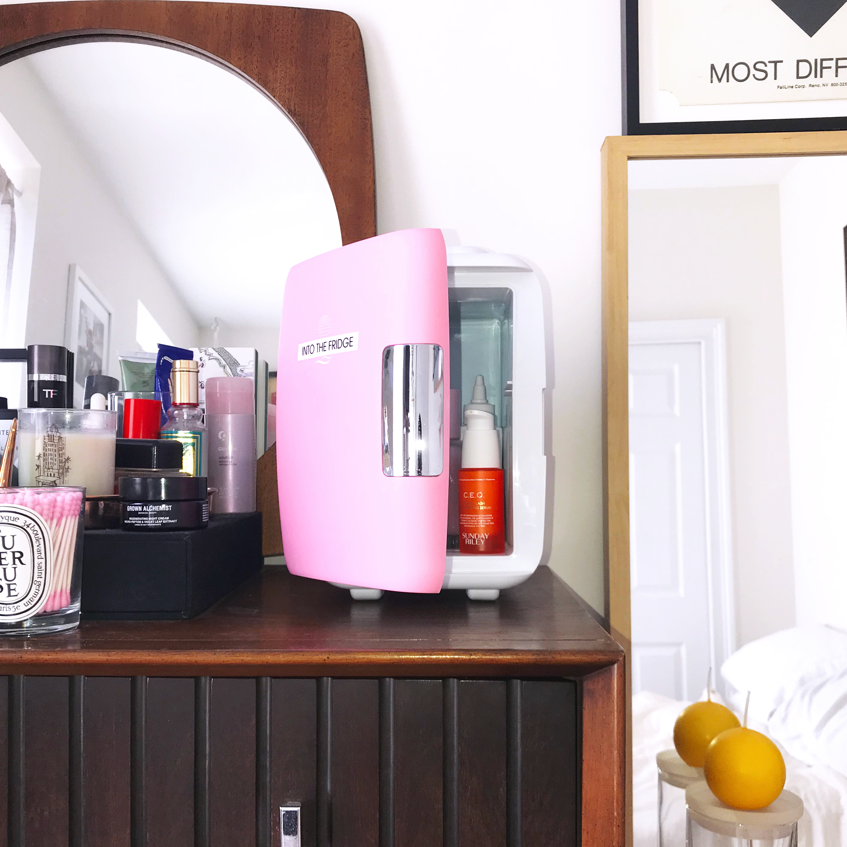 Introducing The Top Fridge Skin care, Beauty tips for