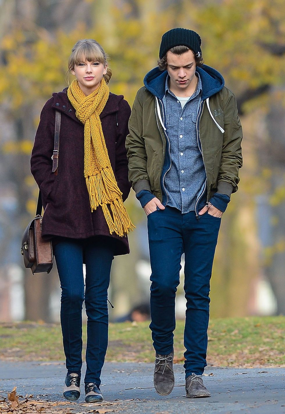 harry styles and taylor swift dating history