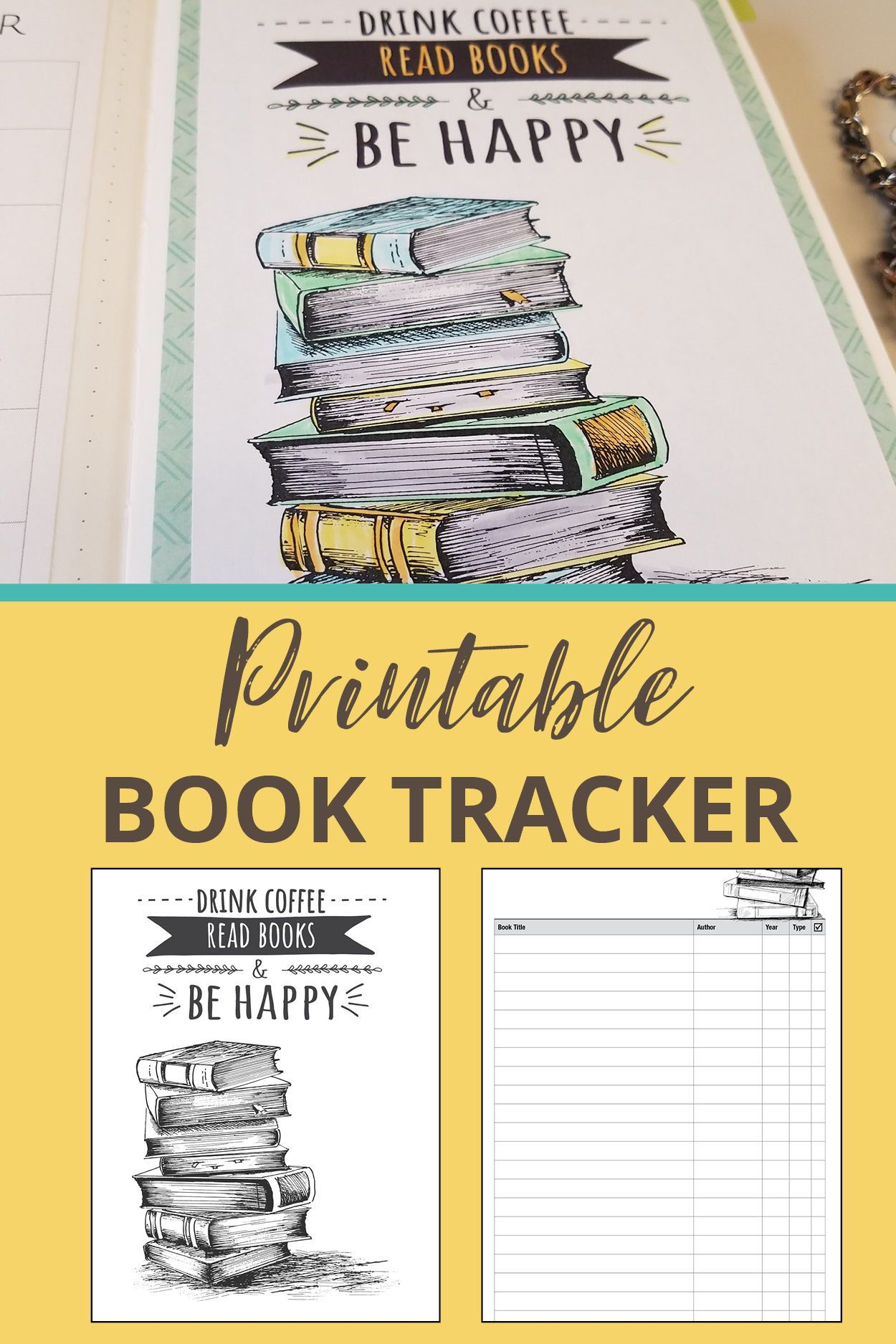 The Book Reading Tracker In My Bullet Journal Notebook Started Out As A Digital Organizi Books To Read Bullet Journal Reading Journal Printable Reading Tracker