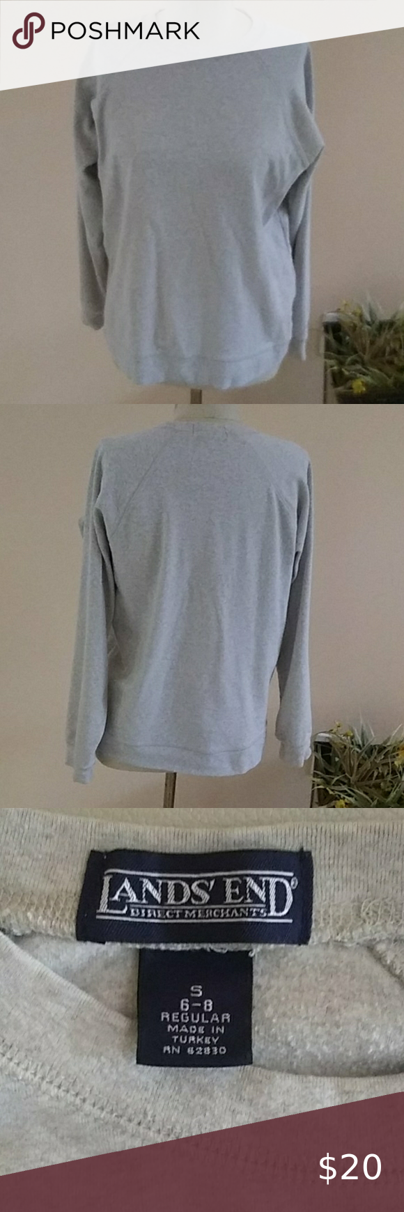 Lands End Top Tops Long Sleeve Tops Long Sleeve Tshirt Men [ 1740 x 580 Pixel ]
