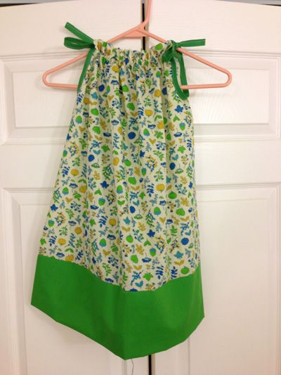 A pillow case dress I made for Little Dresses for Africa. | litlle ...