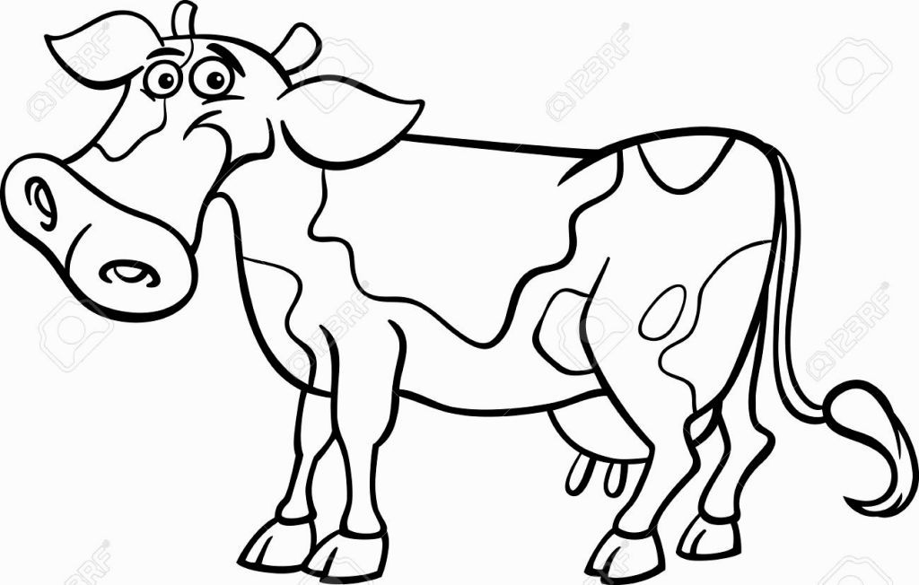 Coloring Book Cow | Coloring Pages | Pinterest | Coloring books and Cow