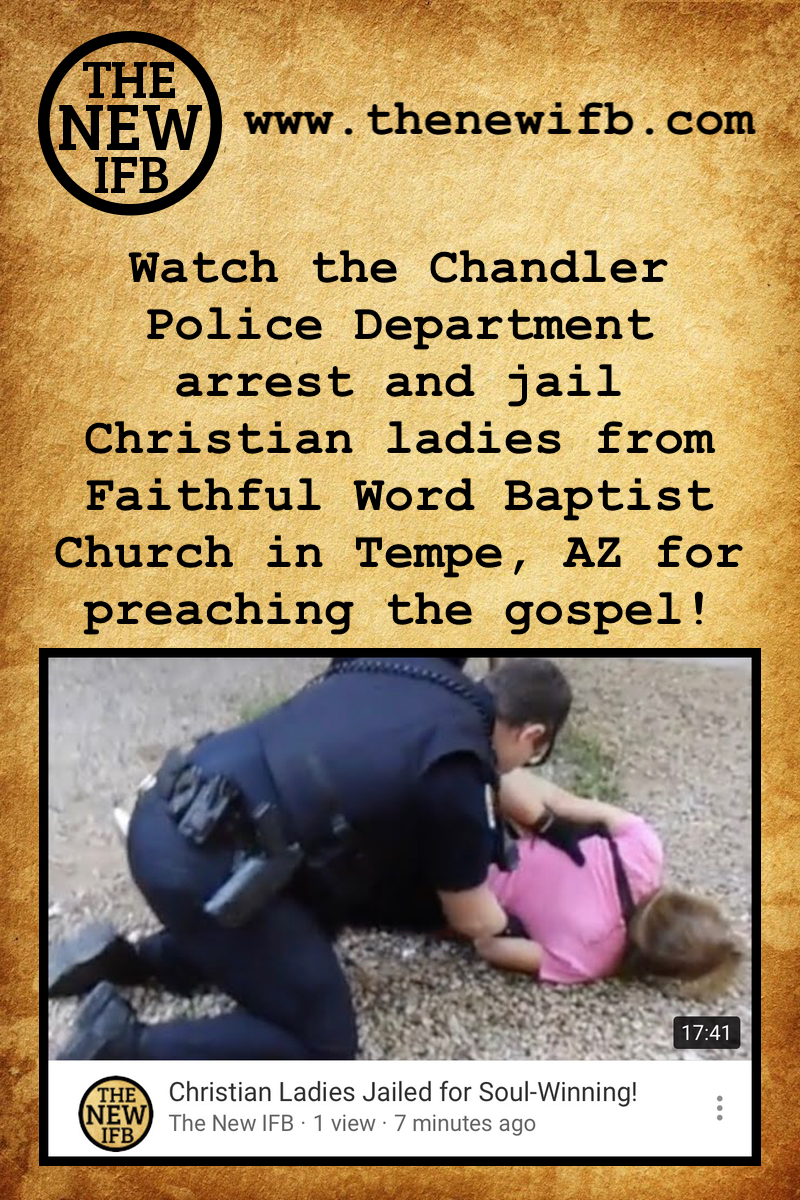 Watch the Chandler Police Department arrest and jail