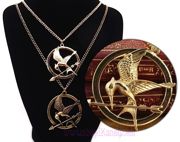 Hunger Games Mockingjay  Necklace-