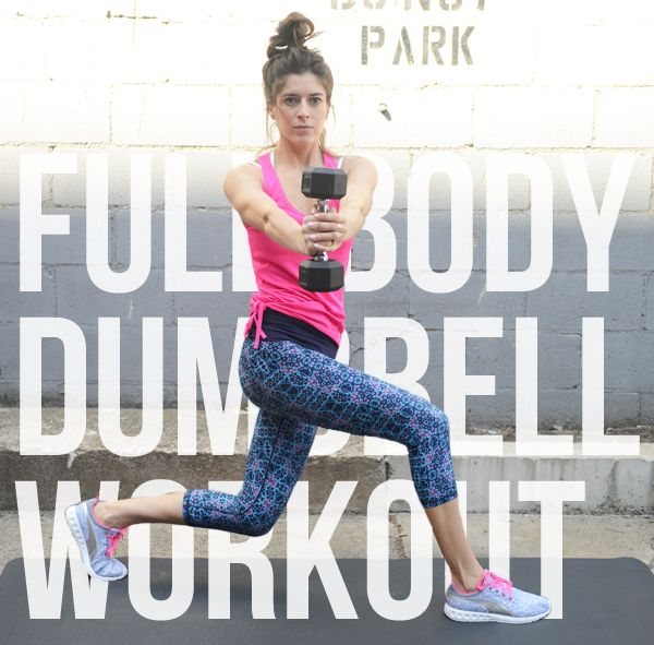 Full-Body Dumbbell Workout with Compound Exercises | Pumps & Iron