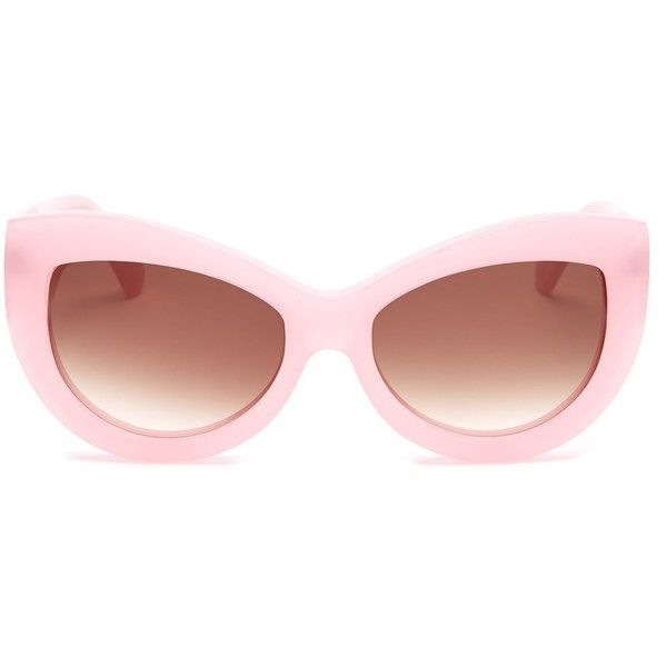 bffff1e1e3 WILDFOX Women s Kitten Plastic Sunglasses (76 AUD) ❤ liked on Polyvore  featuring accessories