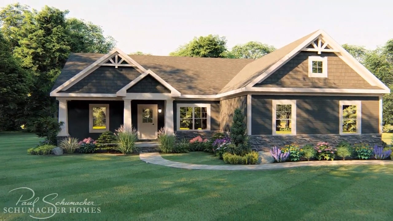 This Excellent Photo Is Definitely A Very Inspiring And Superior Idea Guttersbookshelf In 2020 Small House Exteriors Ranch House Exterior Craftsman House Plans