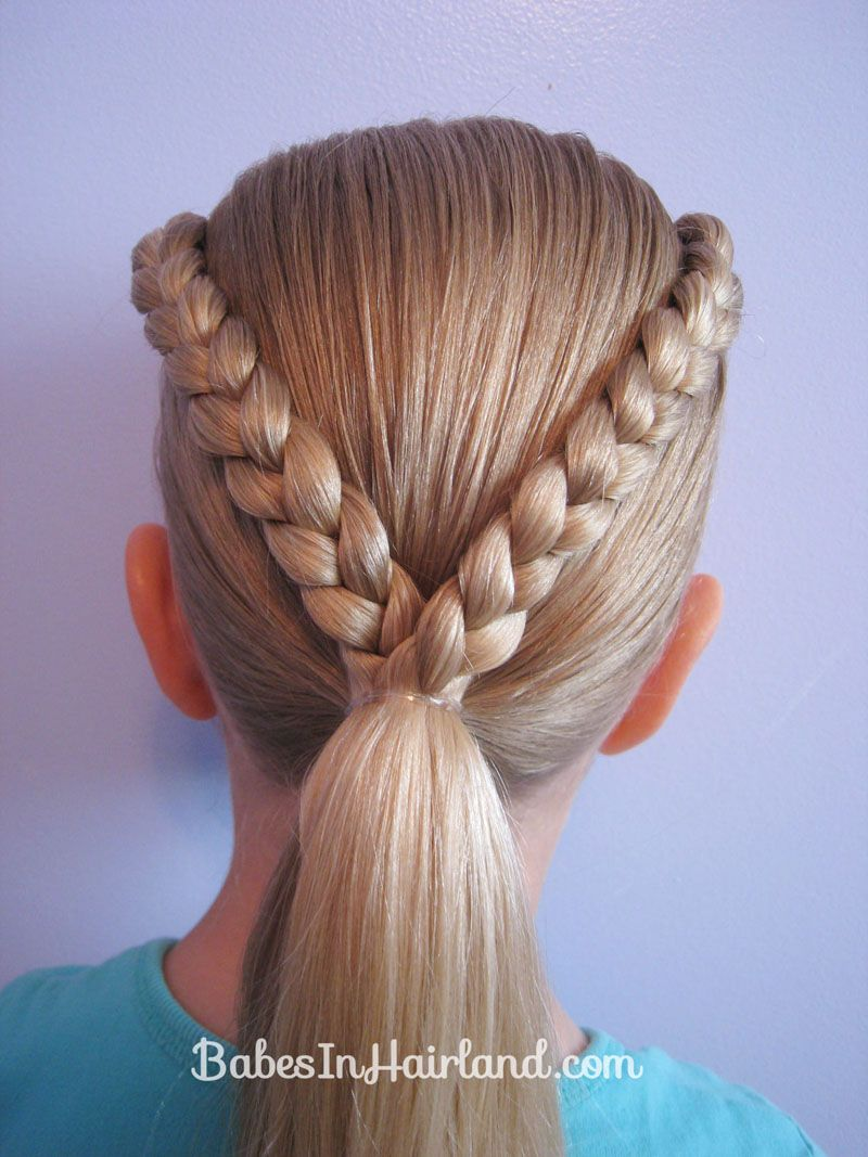 Letter v hairstyle hair style