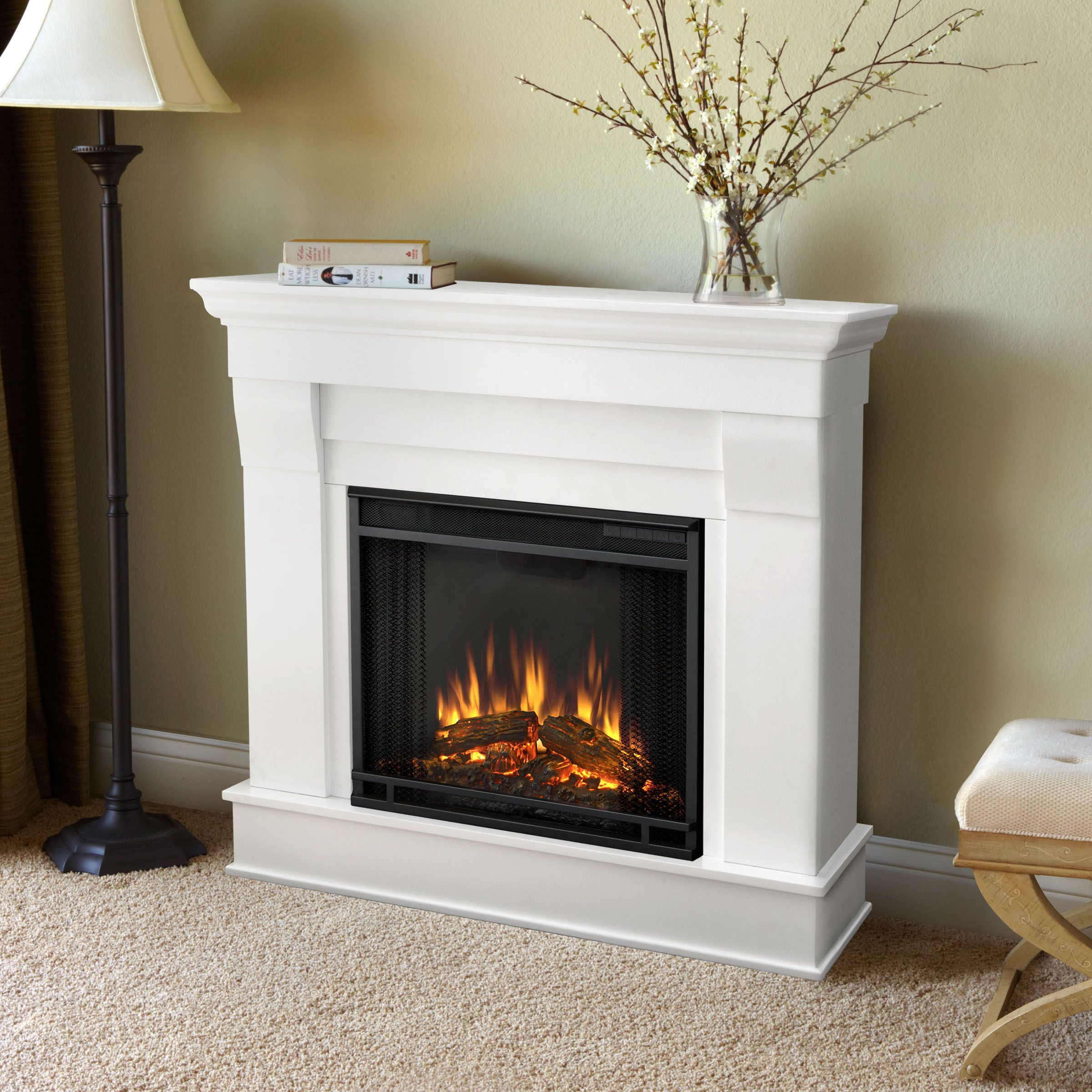 real flame chateau electric fireplace fireplaces and surrounds