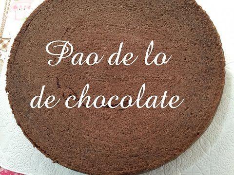 Pão de Ló de Chocolate Fácil. Perfeito para tortas e bolos decorados. CULINARIATERAPIA. - YouTube