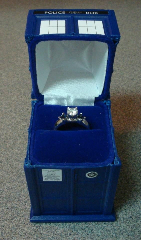 Fellow Whovians Page 2 Tardis Tardis ring and Engagement