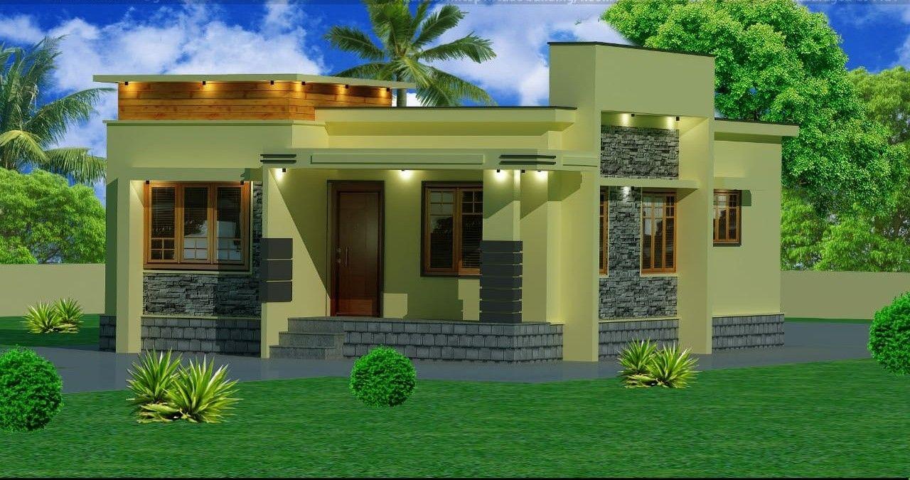 15 Lakhs Budget Modern Home Plan Kerala House Design Modern House Plans Rustic House