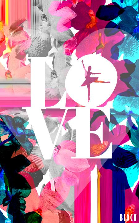 LOVE- Share the love on Valentines Day with dance inspired cards from Bloch!