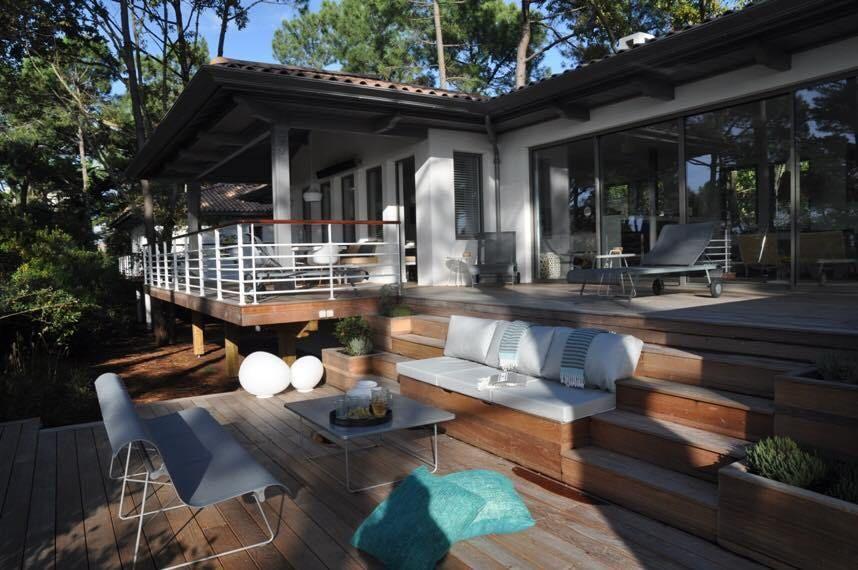 C\u0027est près de l\u0027Atlantique, dans le sud-ouest de la France, à - location maison cap ferret avec piscine