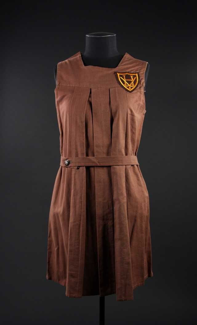 Girl's school gym frock, 1940's, New Zealand.