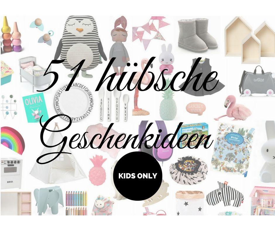 Geschenke Ideen für Kinder - Weihnachtsgeschenke für Kinder ...