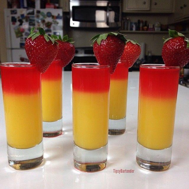 ▃▃▃▃▃▃▃▃▃▃▃▃▃▃▃▃▃▃▃▃   POP MY CHERRY SHOT ½ oz. (15ml) Triple Sec ½ oz. (15ml) Orange Juice ½ oz. (15ml) Cherry Vodka Strawberry   CLICK the link in my bio to watch us make this amazing drink on youtube!    #drinkporn #cocktail #foodporn #cocktails #liquor #alcohol #booze #club #bar #drink #mixology #drinkup #yummy #amazing #instagood #dessert #vodka #uvvodka #cherry #triplesec #shot #shootet #orangejuice #strawberry   ▃▃▃▃▃▃▃▃▃▃▃▃▃▃▃▃▃▃▃▃ #vodkastrawberries