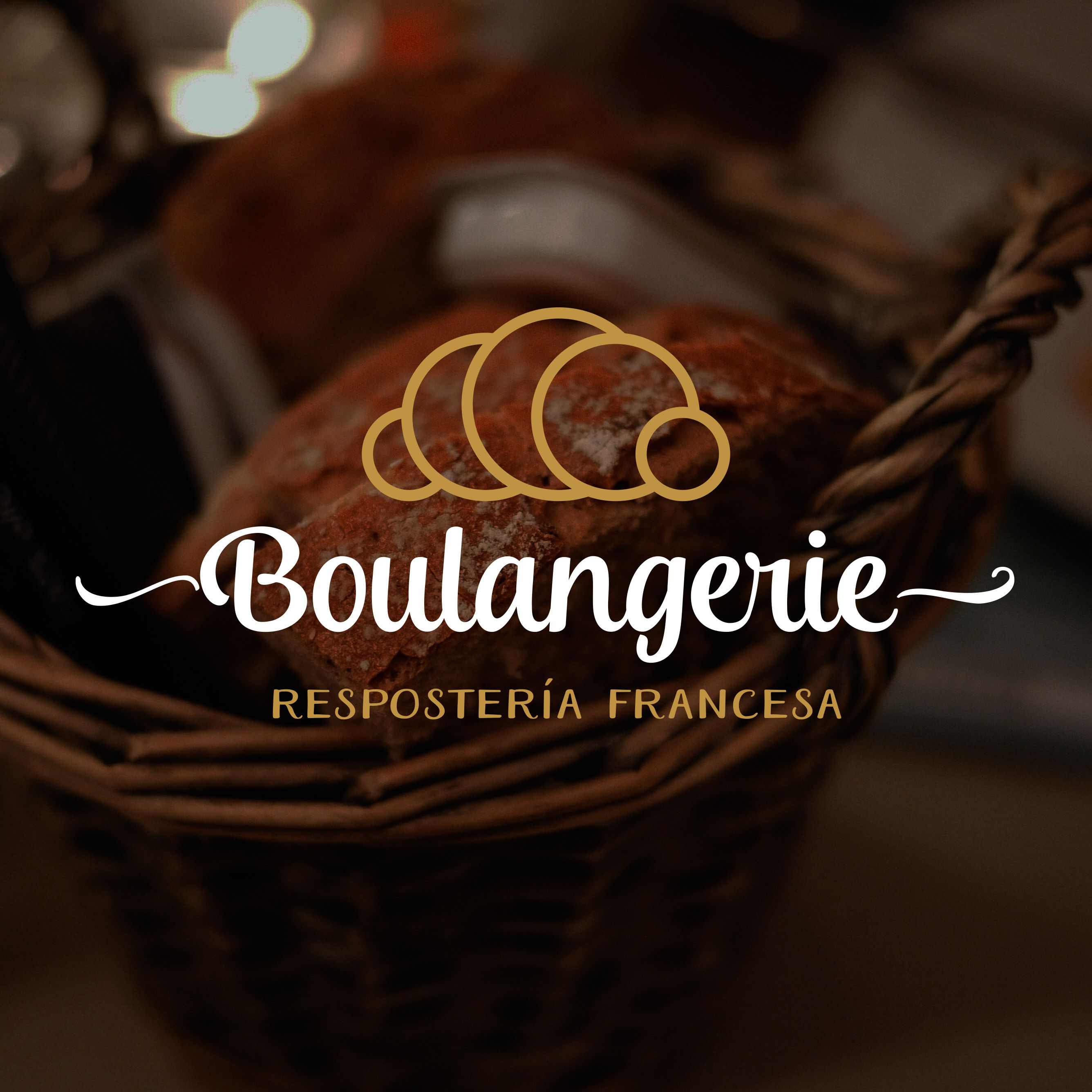 substitute an apron for the rolling pin and add a little bit of branding logo design for a french bakery diseno de logotipo para pasteleria francesa