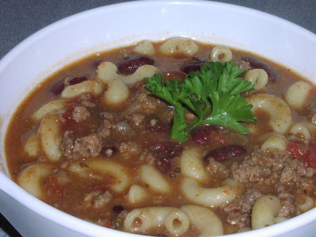 Make and share this Chili Soup recipe from Food.com.