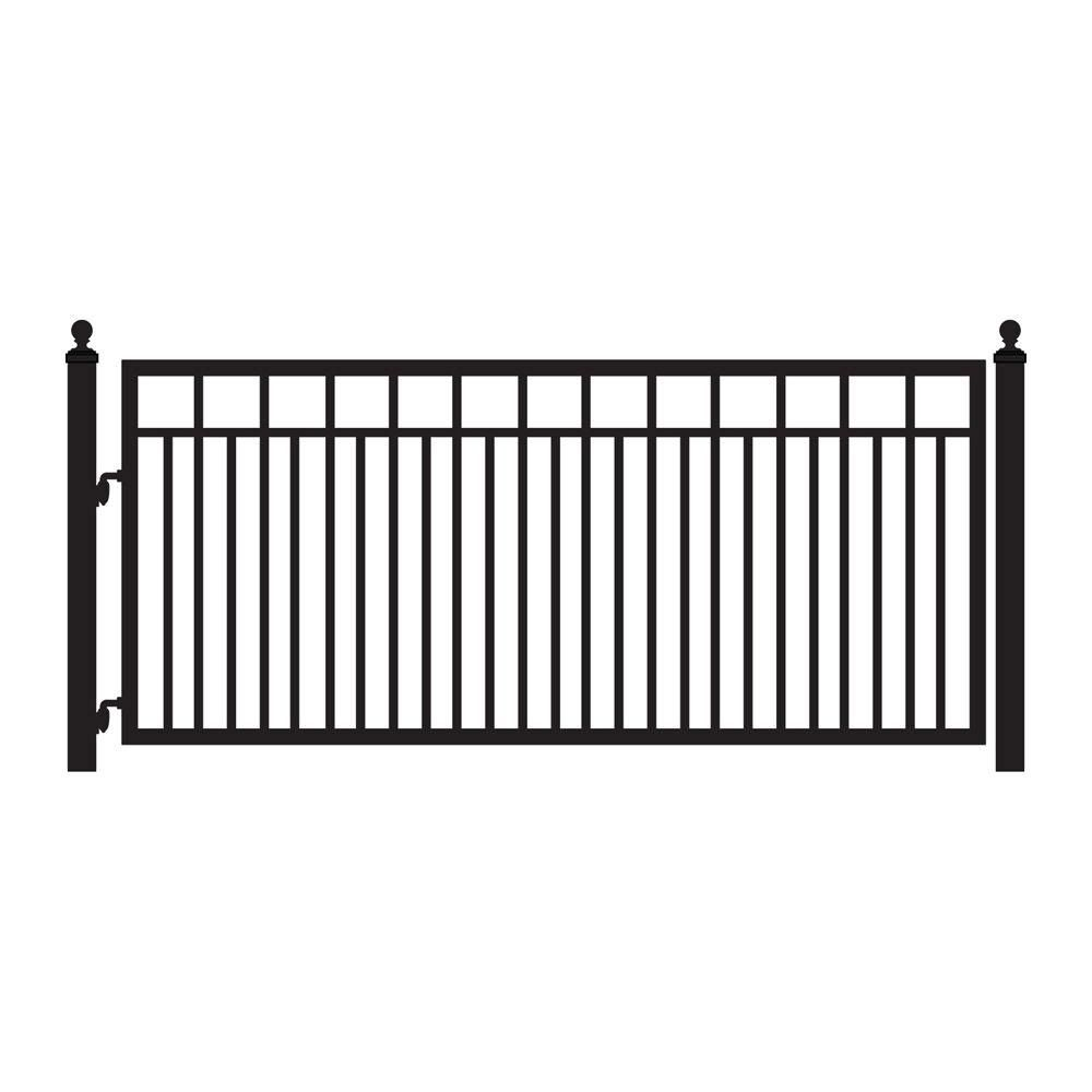Galvanized steel frame drive gate fence dallas wood gate - Powder Coated Steel Metal