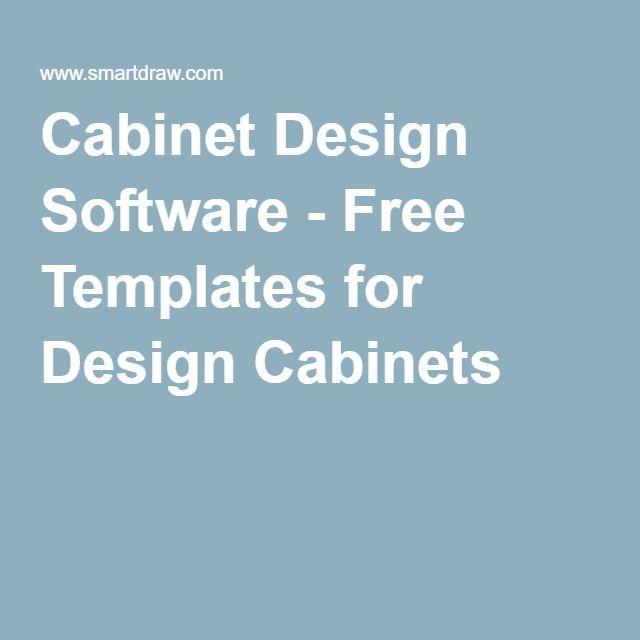 Cabinet Design Software - Free Templates for Design Cabinets | Alan