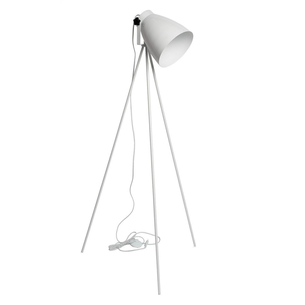 Stehlampe MW013, Stehleuchte Standleuchte, weiß | Apartment ...