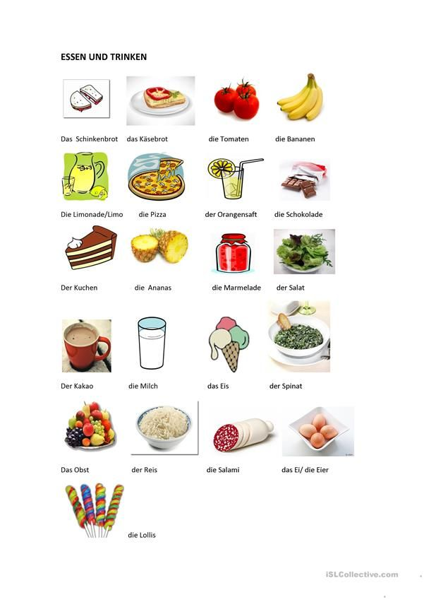 flas- karte: essen und trinken | essen und trinken, essen