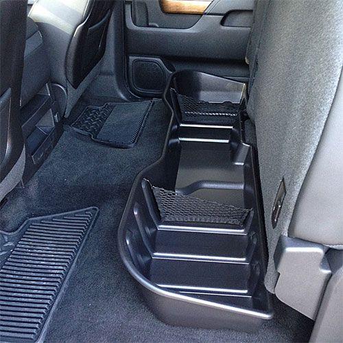 2014 Silverado 1500 Rear Underseat Storage Organizer Ebony Crew Cab 23183674 Silverado 1500 Camiones Chevy Camiones