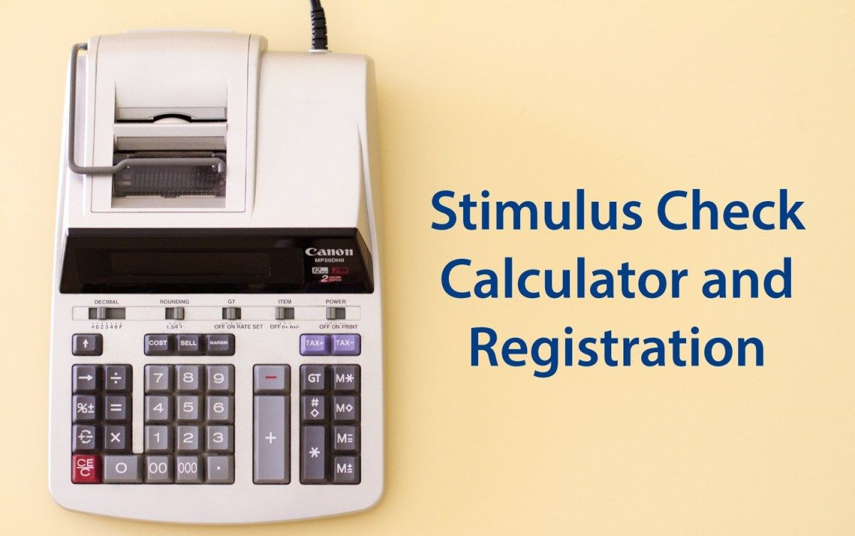 Stimulus Check Registration in 2020 Filing taxes